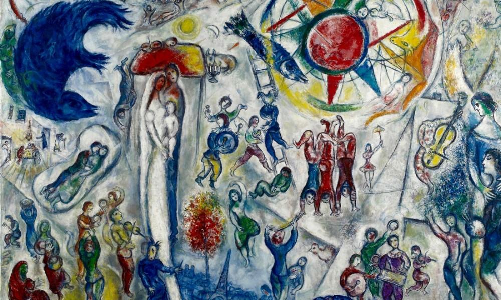 chagall mostra