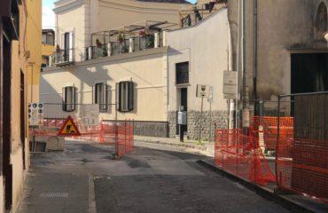 lavori centro storico giugliano