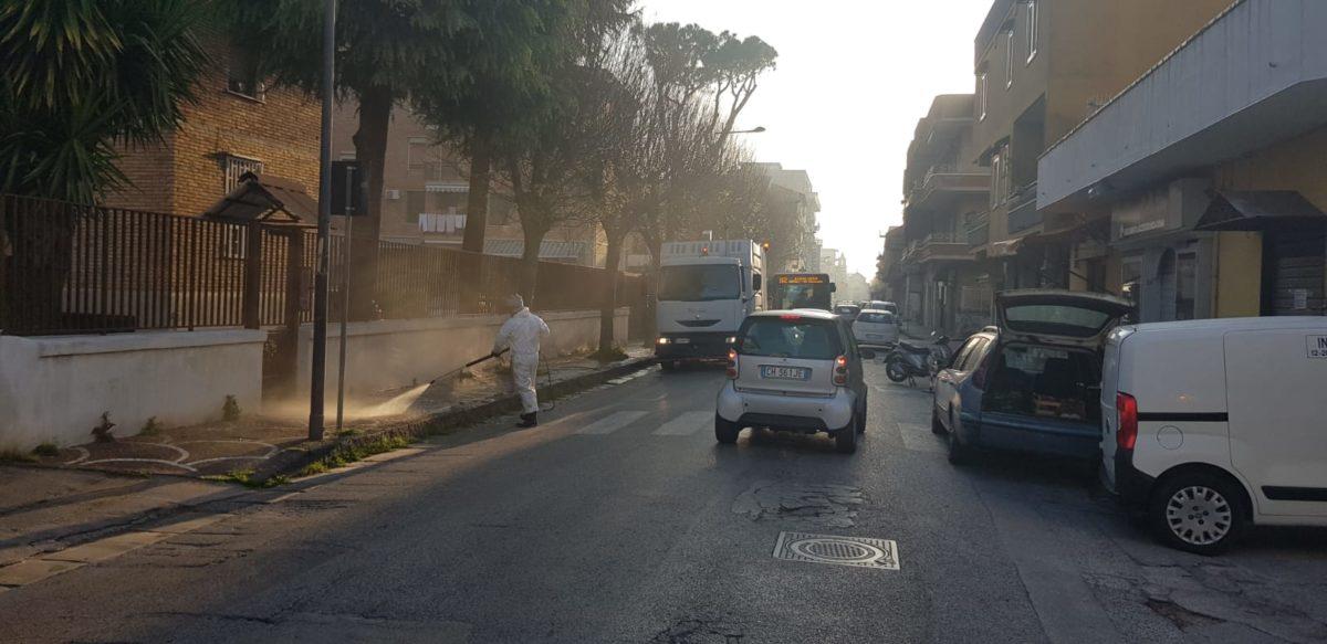 pulizia strade giugliano
